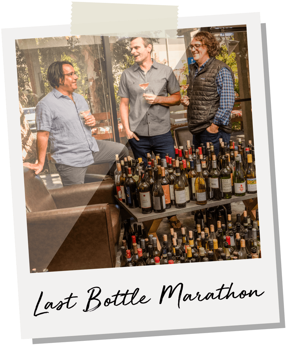 The founders of Last Bottle, Stefan, Cory and Brent.